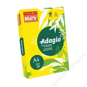 REY Másolópapír, színes, A4, 80 g, REY Adagio, intenzív sárga (LIPAD48IS)