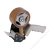 ESSELTE Csomagzáró gép, 50 mm, ESSELTE (E11591)