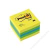 3M POSTIT Öntapadó jegyzettömb, 51x51 mm, 400 lap, 3M POSTIT, lime (LP2051L)