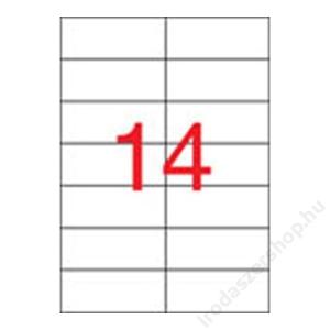 APLI Etikett, univerzális, 105x42,4 mm, APLI, 7000 etikett/csomag (LCA1795)