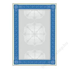 SIGEL Előnyomott papír, A4, 185 g, SIGEL Oklevél, kék (SDP490) fénymásolópapír