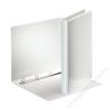 ESSELTE Gyűrűs dosszié, panorámás, 4 gyűrű, 25 mm, A4, PP/PP, ESSELTE, fehér (E49700)