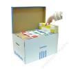 DONAU Archiváló konténer, 522x351x305 mm, karton, DONAU, kék-fehér (D76665)