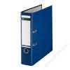 Leitz Iratrendező, 80 mm, A4, PP/karton, élvédő sínnel, LEITZ 180, kék (E10101235)