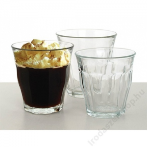 Kávéspohár, 16 cl, üveg, Retro (KHKE060)
