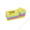 3M POSTIT Öntapadó jegyzettömb, 38x51 mm, 3M POSTIT, energikus színek (LP653TFEN)