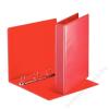 ESSELTE Gyűrűs dosszié, panorámás, 4 gyűrű, 50 mm, A4, PP/PP, ESSELTE, piros (E49713)