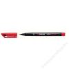 STABILO Alkoholos marker, 0, 7 mm, STABILO OHPen F, piros (TST84240)