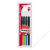 ICO Alkoholos marker készlet, OHP, 2-3 mm, B, ICO, 4 különböző szín (TICPBV4)