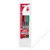ICO Alkoholos marker készlet, OHP, 0,5 mm, F, ICO, 4 különböző szín (TICOHPFV4)