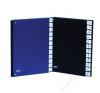DONAU Előrendező, A4, A-Z, karton, DONAU, fekete (D8694FK) aláírókönyv