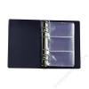 PANTA PLAST Névjegytartó, 120 db-os, gyűrűs, PANTAPLAST, kék (INP330412K)
