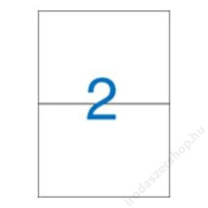 VICTORIA Etikett, univerzális, 210x148 mm, VICTORIA, 200 etikett/csomag (LCV11382)