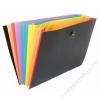 VIQUEL Harmonika mappa, PP, 8 részes, VIQUEL RainbowClass, fekete (IV110087)