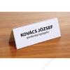 FELLOWES Ültetőkártya, 120x45 mm, FELLOWES (IFW53045)