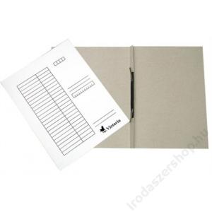 VICTORIA Gyorsfűző, karton, A4, VICTORIA, fehér (IDPGY01)