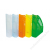DONAU Iratpapucs, műanyag, 70 mm, DONAU, áttetsző sárga (D74621S)