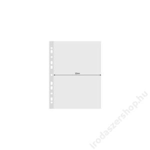 DONAU Genotherm, lefűzhető, A4, széles, 120 mikron, víztiszta, DONAU (D177825)