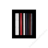 FELLOWES Spirál, műanyag, 10 mm, 41-55 lap, FELLOWES, fekete (IFW53311)
