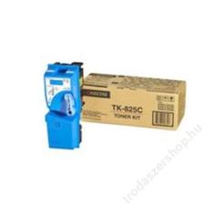 Kyocera-Mita TK825C Fénymásolótoner KM C2520 fénymásolóhoz, KYOCERA-MITA kék, 7k (TOKYTK825C) nyomtatópatron & toner