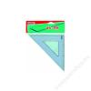 MAPED Háromszög vonalzó, műanyag, 45°, 26 cm, MAPED Graphic (IMA242426)