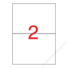 APLI Etikett, univerzális, 210x148 mm, APLI, 1000 etikett/csomag (LCA1787)