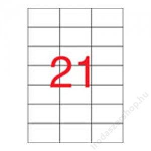 APLI Etikett, univerzális, 70x42,4 mm, APLI, 10500 etikett/csomag (LCA1779)