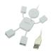 Conrad 4 portos USB 2.0 Hub, Hangman, LogiLink UA0071