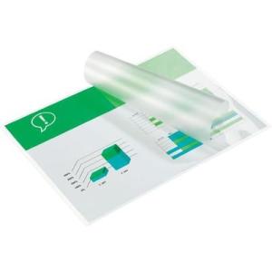 Conrad GBC HeatSeal fényes lamináló fólia, 80x111 mm (A7), 2x125 mikron vastagságú, 100 ív/csomag, GBC IB581076