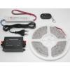 LEDMASTER 3528UWW-150-12VWF / 5 méter vízálló LED szalag tápegységgel és fényerõszabályzóval
