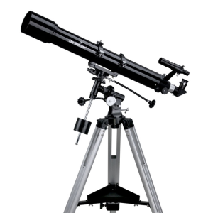 Skywatcher 80/900 refraktor EQ2 mechanikán