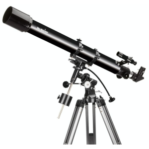 Skywatcher 70/900 refraktor EQ1 mechanikán