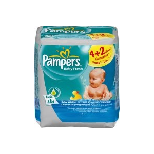 Pampers Baby Fresh 6 x 64 db