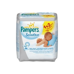 Pampers Sensitive 6 x 56 db