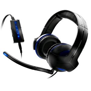 THRUSTMASTER Y-250P PS3 Gaming Headset Black/Blue Headset,2.0,USB,Kábel:5,2m,10 Hz-25 kHz,Mikrofon,Black/Blue