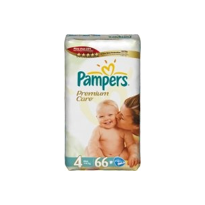 Pampers Premium Care Maxi 66 db + Ajándék Pampers mese dvd