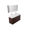 Venezia 1200 Wenge fürdőszoba bútor INFINITY