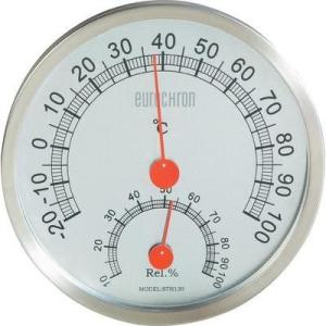 Conrad Nemesacél hő és páratartalom mérő, thermo/hygrométer Eurochron ETH 30