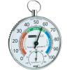 Conrad Felakasztható hő és páratartalom mérő, thermo/hygrométer Ø100 mm TFA