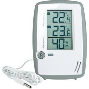Conrad Levegő hőmérséklet és páratartalom mérő, thermmo/hygrométer külső érzékelővel TFA
