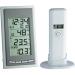Conrad Rádiójel vezérlésű DCF óra, külső/belső hőmérséklet és páratartalom mérő TFA DIVA GO