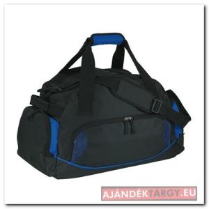 Dome sporttáska 600D, fekete/kék