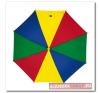 Gyermekesernyő biztonsági zárral, színes esernyő