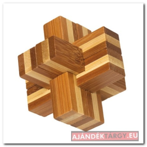 BEND bambusz puzzle