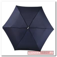 Szuper lapos mini esernyő, sötétkék