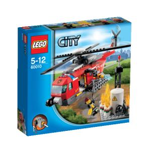 LEGO City - Tűzoltó helikopter 60010