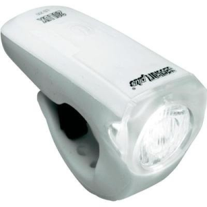 Conrad LED-es kerékpár első lámpa, fehér, Security Plus 0210