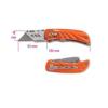 Beta 1777T behúzható pengéjű kés acélból, 5 tartalékpengével szállítva