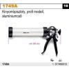 Beta 1749A kinyomópisztoly, profi modell, alumíniumcső
