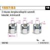Beta 1557/S3 3 részes lengéscsillapító szerelő készlet, krómozott